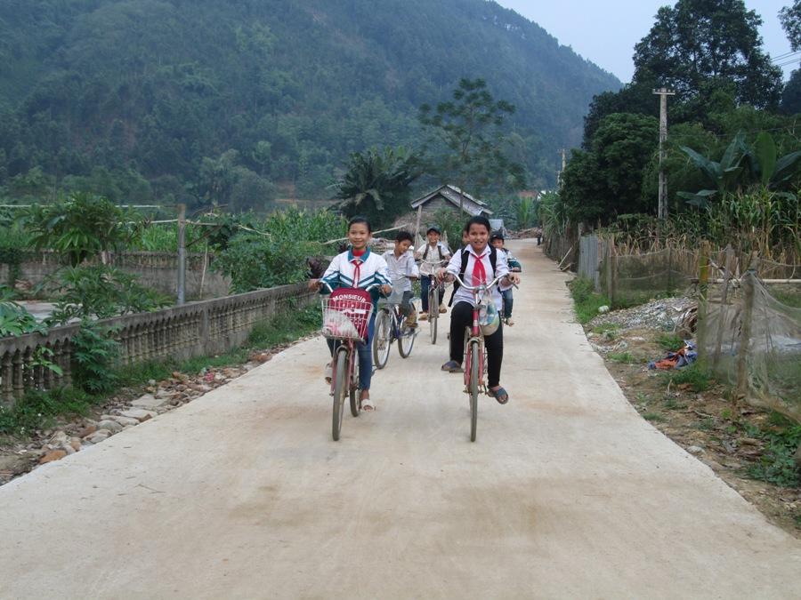 Đến nay tỉnh Yên Bái đã có 57 xã đạt tiêu chí số 2 về Giao thông nông thôn